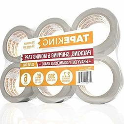 Tape King Clear Packing Tape - 60 Yards Per Roll  - 2 Inch W