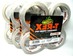 ❤ T-Rex Clear Packing Tape Refill 4 Rolls 1.88 In X 35 Yd