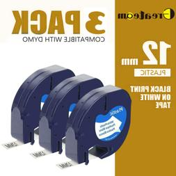5pk LT 91331 91201 91221 Compatible for DYMO LetraTag Label