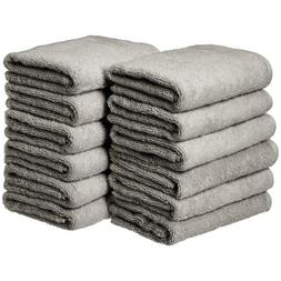 cotton hand towel 12 pack grey