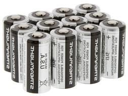 Streamlight CR123A 3V Lithium Batteries - 12 Pack