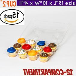 Cupcake Boxes, Cupcake Containers, 12 Compartment Cupcake Co
