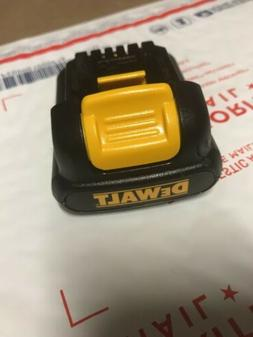 DEWALT DCB120 12V 12 VOLT MAX Lithium Ion Battery Pack DCB12
