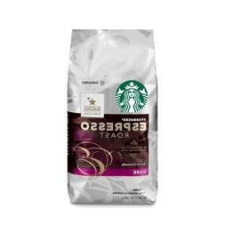 STARBUCKS ESPRESSO ROAST DK. GROUND COFFEE 12oz BAG - PACK O