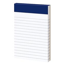 evidence narrow perforated writing pads