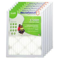 """FiltersFast 1"""" Merv 13 Air Filters - 6-Pack For Air Conditio"""