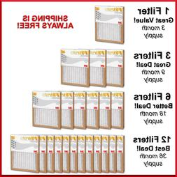 Filtrete Air Filter Basic Pleated Furnace Replacement Pad Du