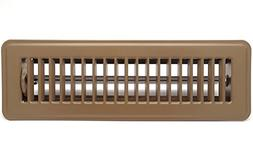 "12"" X 2"" Floor Register with Louvered Design - Heavy Duty Ri"