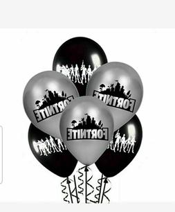 """FORTNITE THEMED 12"""" LATEX BALLOONS - FREE DELIVERY, SAME DAY"""