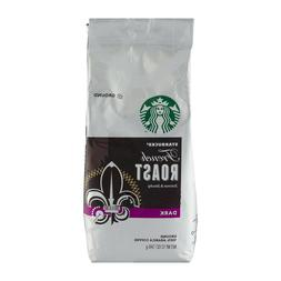 STARBUCKS FRENCH ROASTED DK. GROUND COFFEE - 12oz BAG - PACK