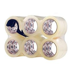 Perfectape Heavy Duty Packing Tape 12 Rolls, Clear, 2.7 mil,
