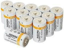 HOT AmazonBasics D Cell Everyday Alkaline Batteries .