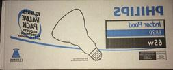 philips indoor flood BR30 65w 12 bulb value pack Open Box