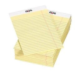 School Smart Junior Legal Pads, 5 x 8 Inches, 50 Sheets Each