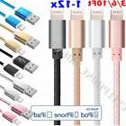 1-12 Pack Lot Lightning Cable 3/6/10 FT USB Charger for Appl