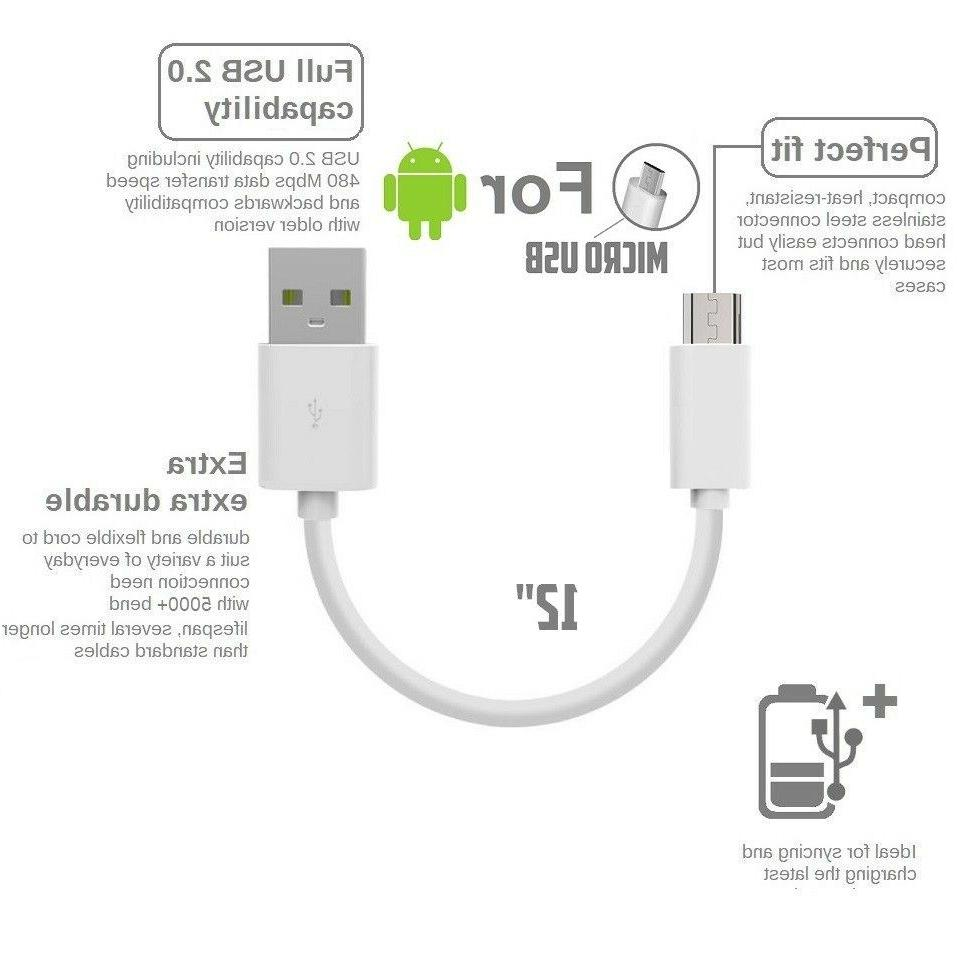 1 3pack samsung Data PVC USB Cable