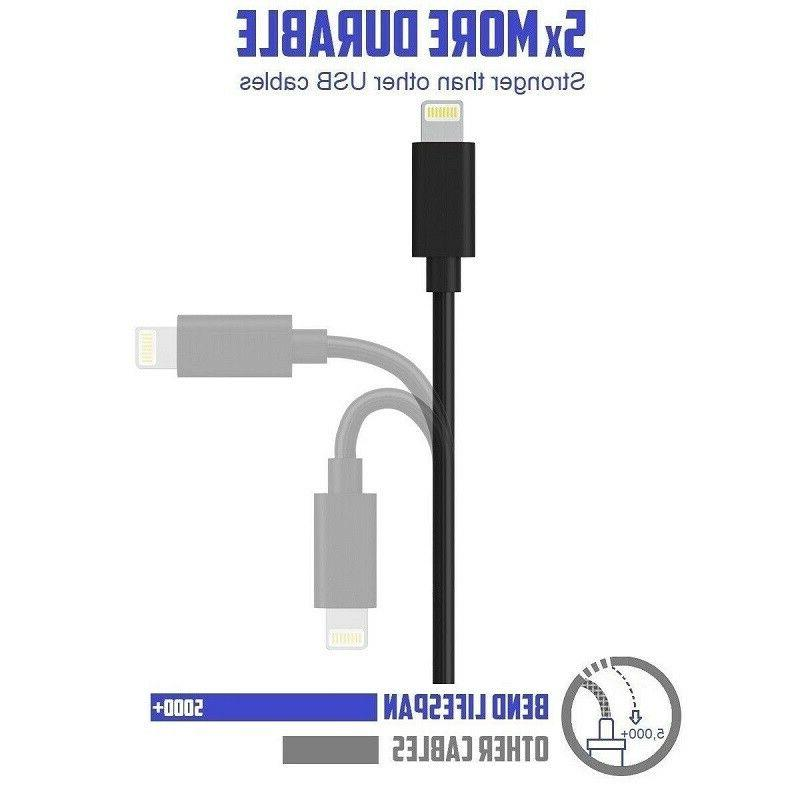"""12"""" Short USB Charger Charging Cables Data Sync Cord PACK"""