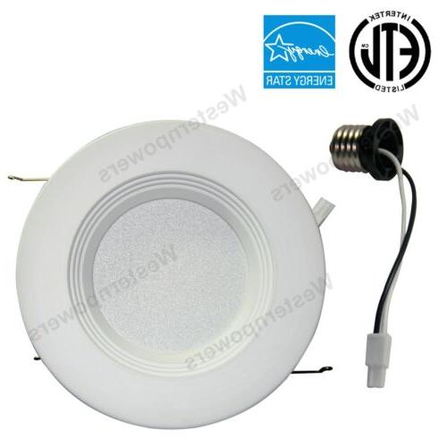 Westernpowers Pack 6 Inch Recessed LED Light 15W 1100 Dimmable