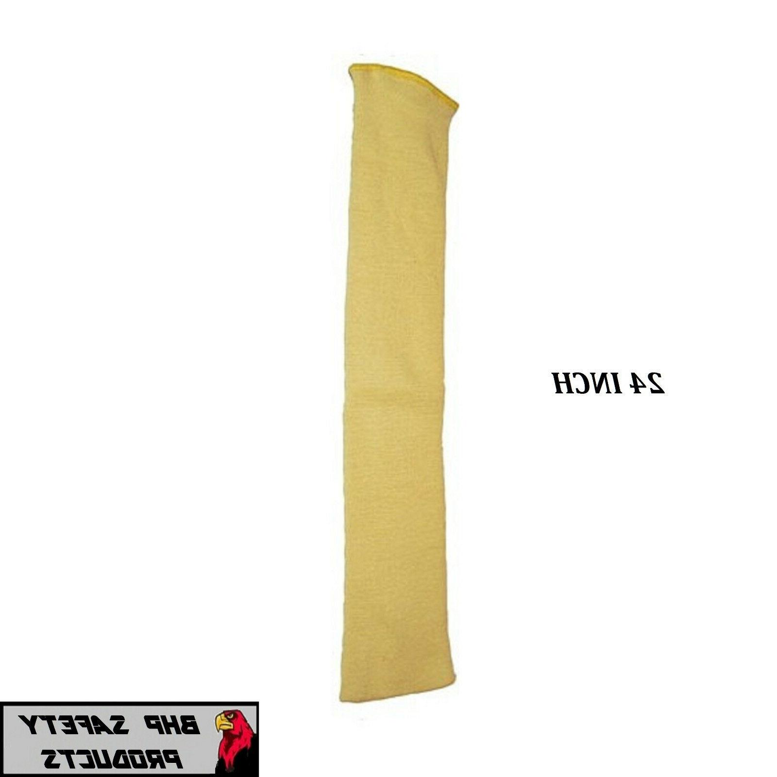 "DUPONT 24"" KEVLAR CUT RESISTANT SLEEVE 24 INCH 2 PLY WASHAB"