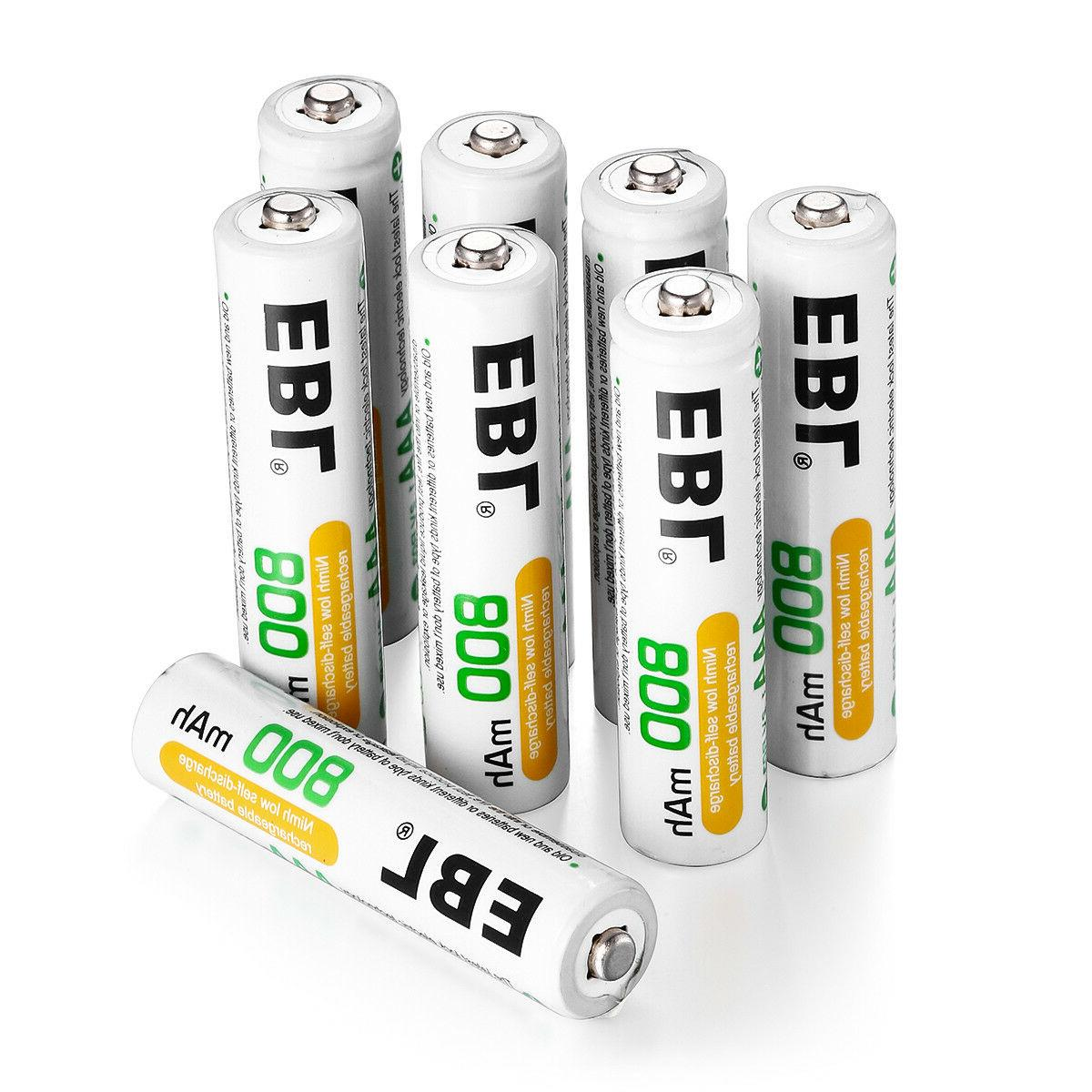 EBL Pack AAA Rechargeable for 3 Box