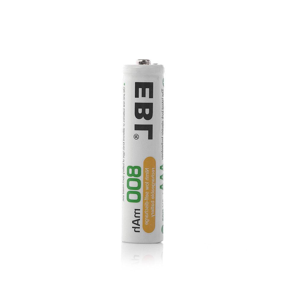 EBL 12 Pack AAA Rechargeable Battery for Flashlight + 3