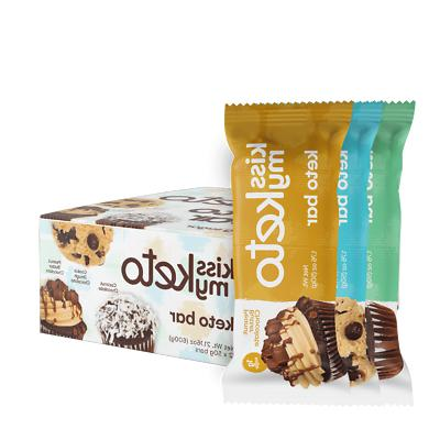 12 pack bars chocolate cookie coconut peanut