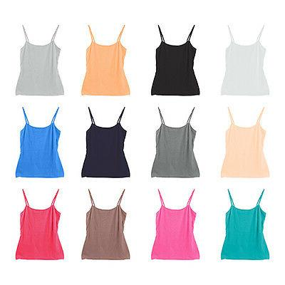 12-Pack Women's Sport Yoga Tank Top Undershirt Camisole Cand