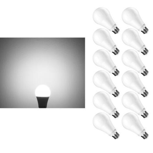 12 pack dimmable 15w a21 led bulbs