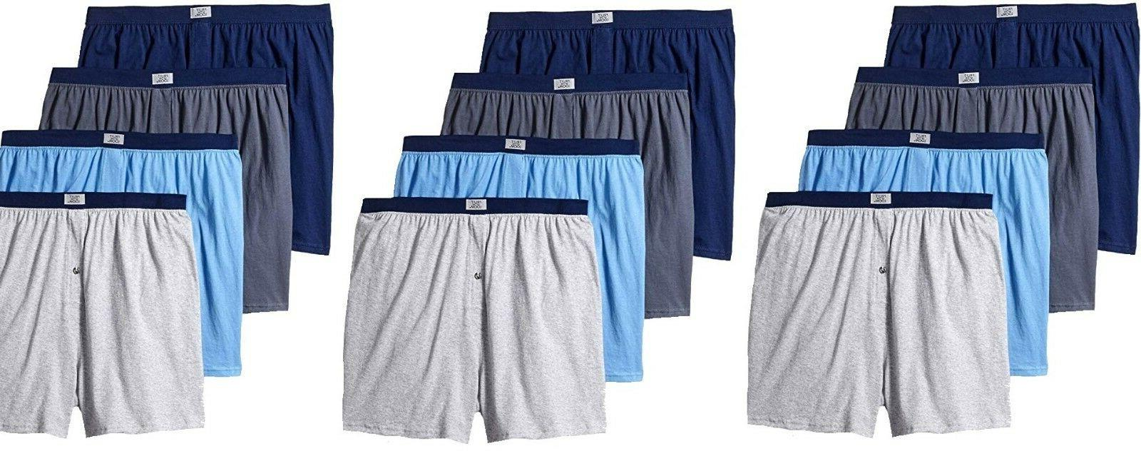 Fruit Of The Loom 12 Pack Men Knit Boxer, ITEM # 4P540X