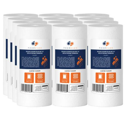 12 pack of sediment water filter whole
