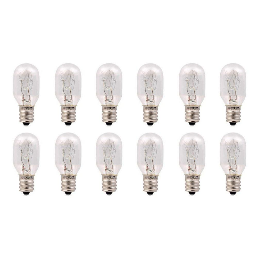 12 pack replacement 15 watt incandescent bulb