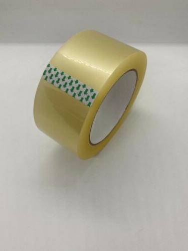 12 Roll Clear Carton Sealing Packing IN X 110 Extra Duty