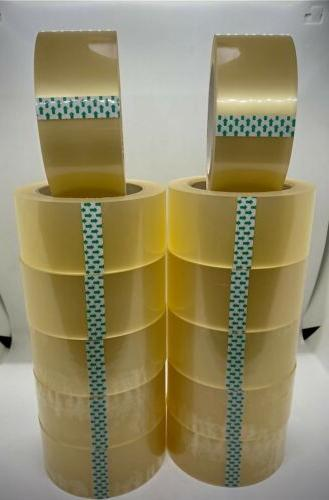 12 roll clear carton sealing packing tape