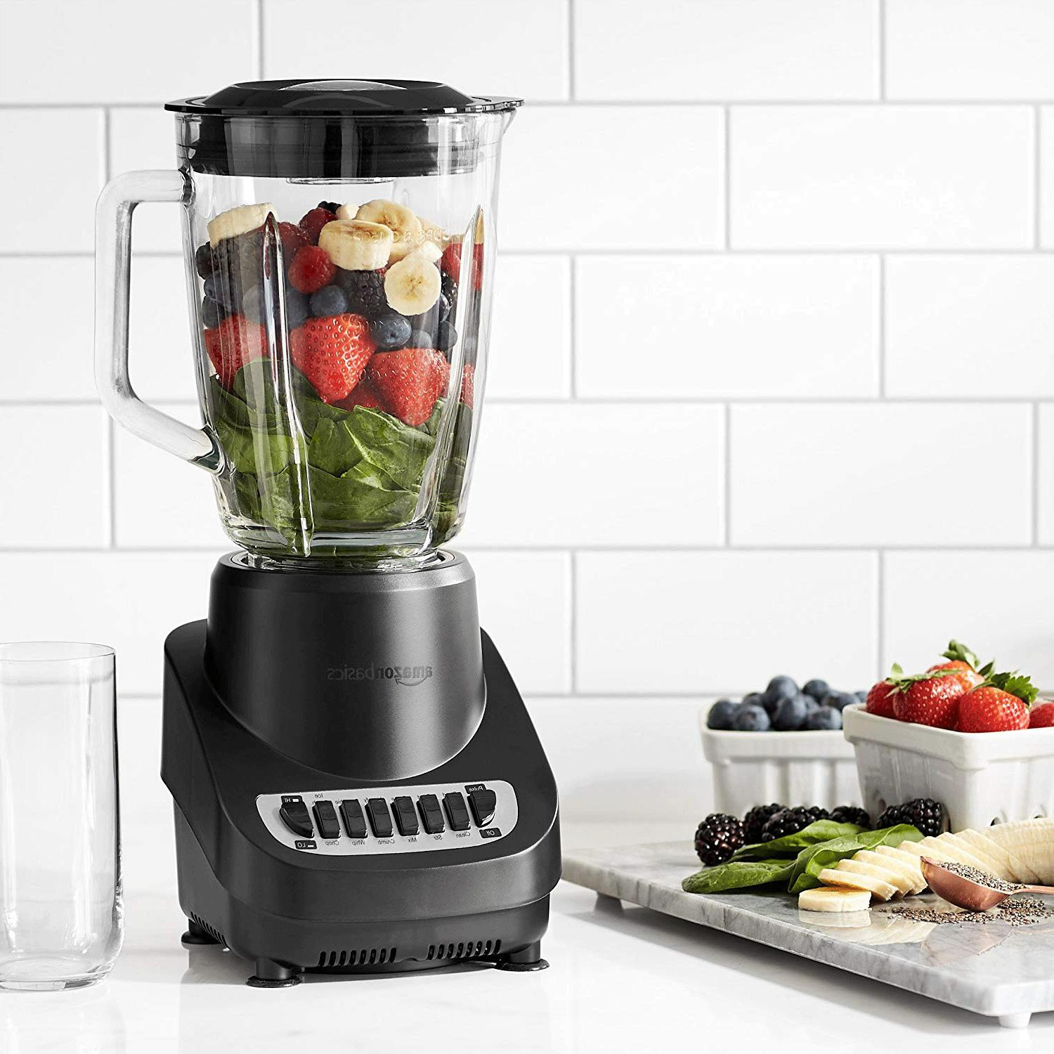 12 speed blender with glass jar free