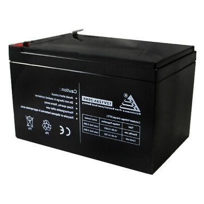 PACK OF 2 12AH Sealed Battery F2 for UPS +
