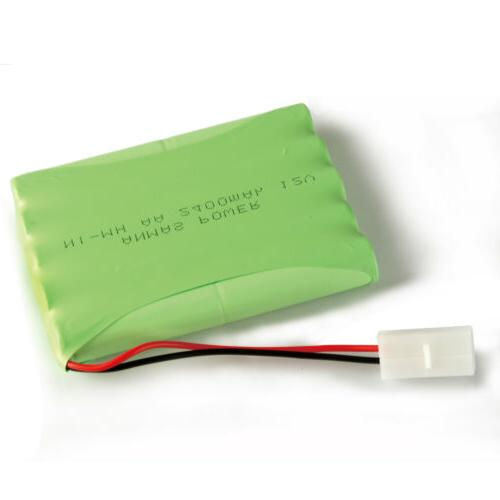 12V Rechargeable 2400mAh RC Toy Car Plug US