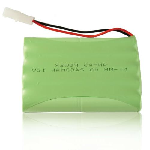 12V 2400mAh For Toy Tamiya Plug US STOCK