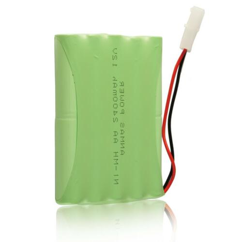 12v rechargeable battery pack 2400mah ni mh