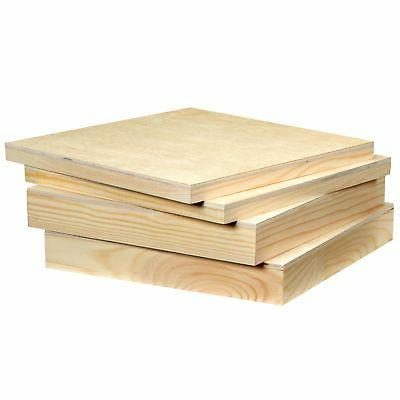 Artlicious Wood Panel for Artist 4 Pack -