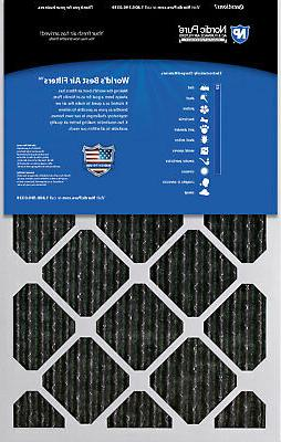 14x30x1 Furnace Air Filters MERV 12 Pleated Carbon