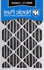 Nordic Pure 16x20x4  Pleated Air Filter MERV 12 Pleated + Ca