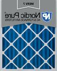 Nordic Pure 16x20x4  Pleated MERV 7 Air Filter 1 Pack