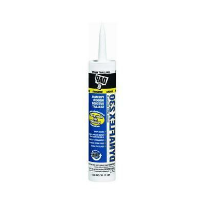 DAP 18275 Dynaflex 230 White Sealant, 10.1-Ounce Cartridge