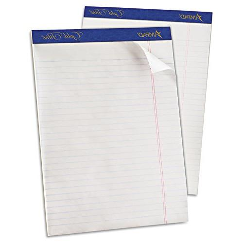 Ampad 20070 Gold Fibre Writing Pads  Legal/Wide Rule  Ltr  W