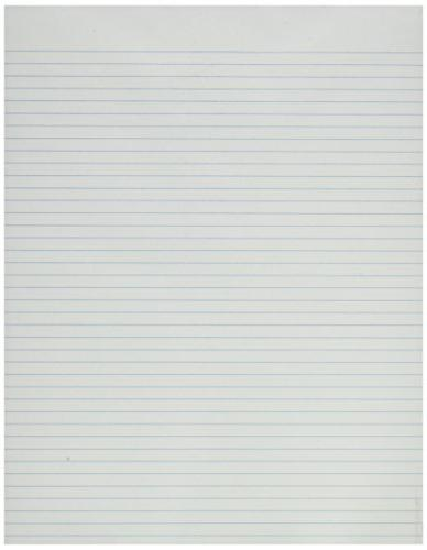 Ampad 21-168R 8-1/2x11 White, 50 Sheets Pad, 12 Pack