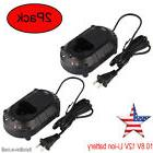 2Pack Replace  Li-ion Battery Charger BL1013 BL1014  DC10WA