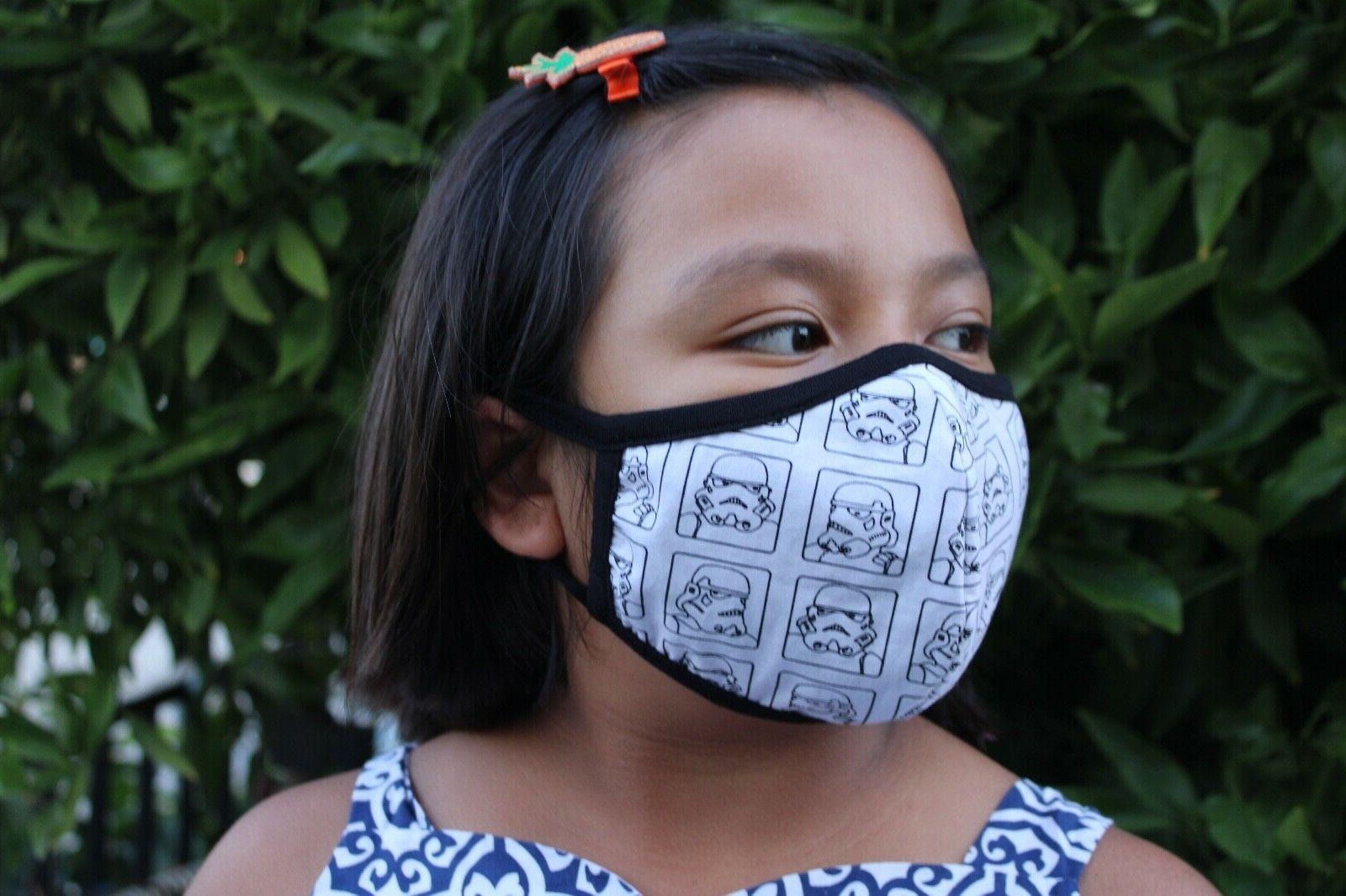 3 pack mask years cotton fabric