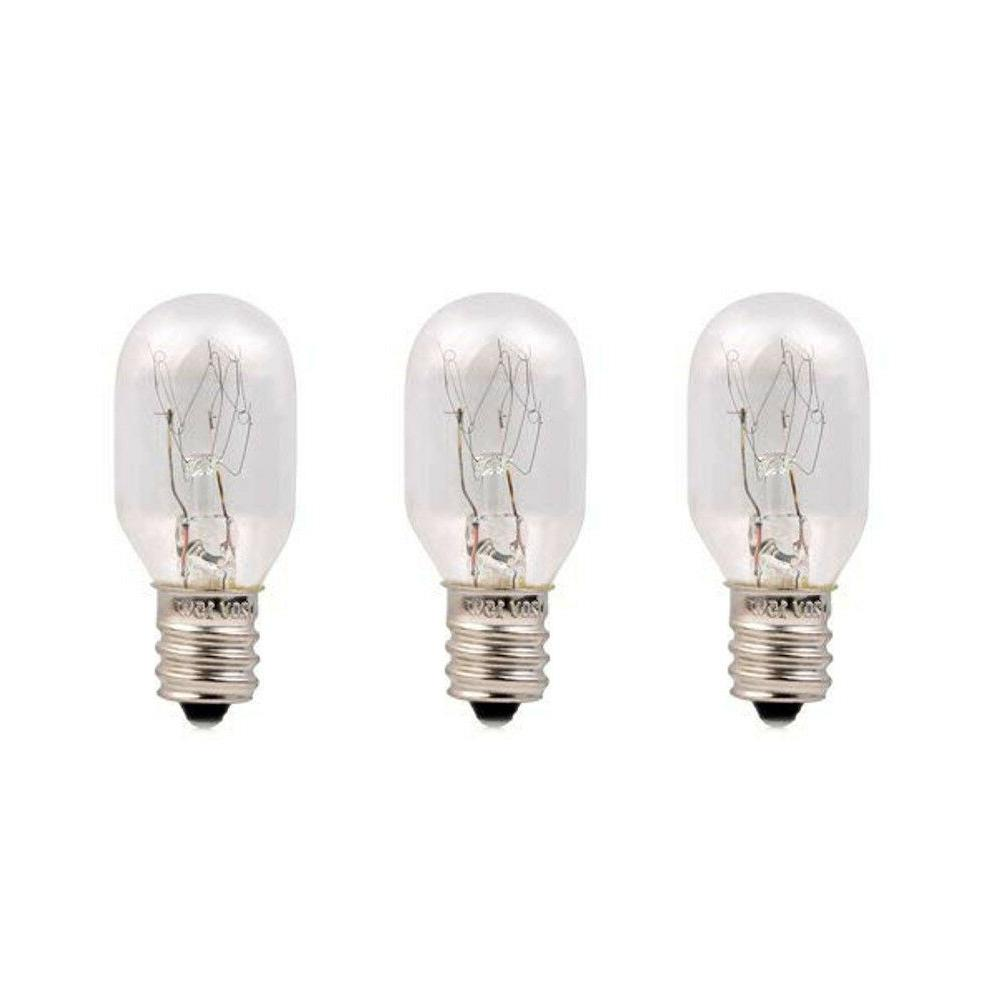 3 pack replacement 15 watt incandescent bulb