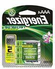 4/pack AAA Energizer Rechargeable NiMH Batteries EXP 2021 AA