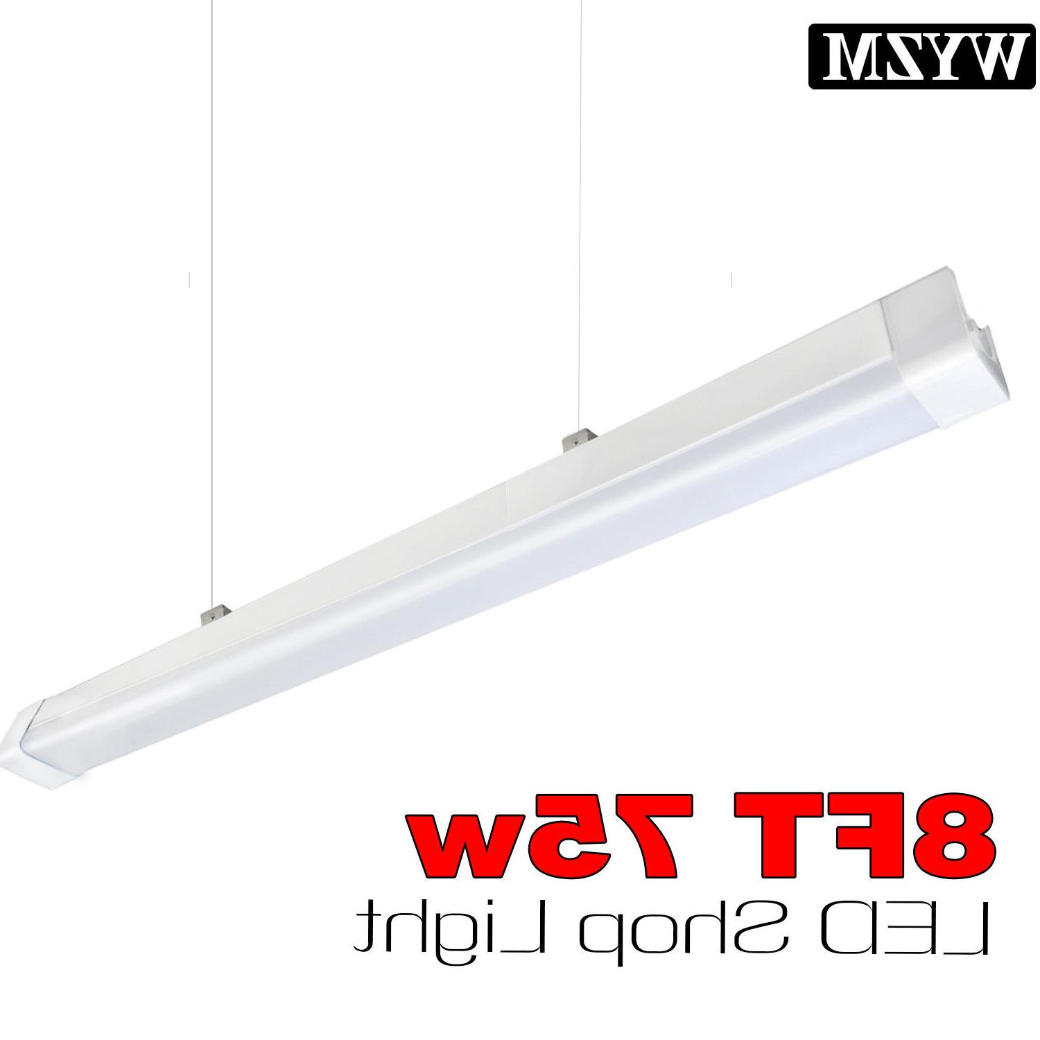 40w 75w 8ft led linear shop light